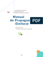 Tre Rn Manual Propaganda Eleitoral 2014