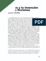 Borges y La Invención de Las Ficciones - Stratta