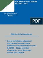 Interpretacion ISO 9001 2015