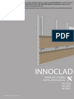 INNOWOOD v Joint Shiplap Cladding Installation Manual JUN 2017 V2