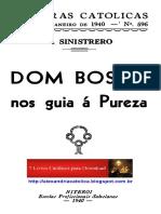 Dom Bosco Nos Guia a Pureza