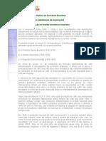 Breve História Da Economia Brasileira