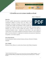 CHADAREVIAN, P. C. a Economia Na Era Do Racismo Científico No Brasil