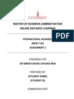 MPIB7103 Assignment 2 (201805)