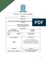 Dossier Pedagogia