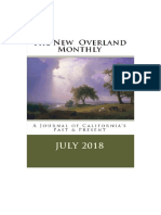 The New Overland Monthly, July 2018