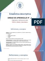 Diapositivas+estadistica+Uinidad+I+y+II+Datos+y+medidas