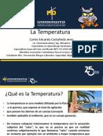 1.1 Temperatura y Escalas