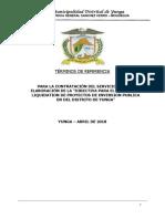 TDR Directiva