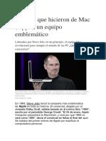 5 Claves Que Hicieron de Mac