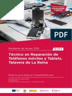 Tecnico Operador Moviles Tablets Talavera