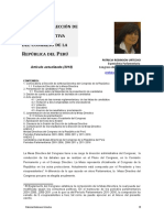 Mesas Directivas Del Congreso - Proceso de elección