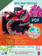 World Beat Festival Program