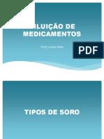 DILUIÇÃO DE MEDICAMENTOS (1)