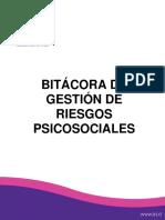 Bitácora Del Proceso de Aplicación Del Protocolo de Gestión de Los Factores Psicosociales