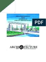 Pokok-pokok Pikiran Arsitektur 85