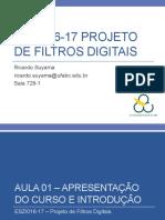 ESZI016-17+-+Projeto+de+Filtros+Digitais+-+Aula01