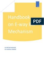Handbook on E-way Bill - June 2018 Edn - CA Pritam Mahure and CA Vaishali Kharde