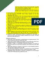 Bibliografía Peronismo