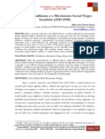 GOMES, Arilson Dos Santos. O Trabalhismo e o MSN Brasileiro