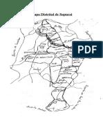 Mapa Distrital de Sapucai