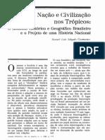 Guimarães, Manoel. IHGB e o projeto de um História Nacional.pdf