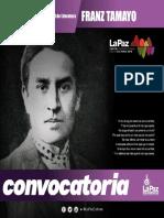 CONV Franz Tamayo 2018