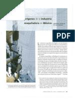 Industria Maquiladora Mexico Historia