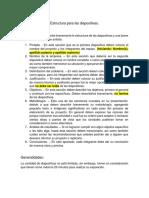 Estructura Para Las Diapositivas