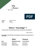 4. Develop Knowledge