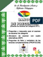Banco de Preguntas Ascenso 2017