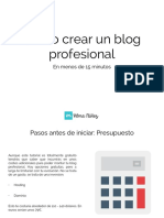 Tutorial Montar Blog Bluehost