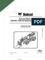 Manual Bobcat T40140
