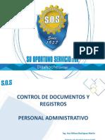 Capacitacion Control de Documentos