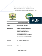 INFORME N° 2 AGRICULTURA URBANA
