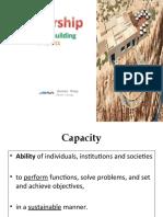 11. Capacity Building