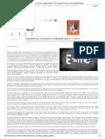 Einstein foi o primeiro a deduzir que E = mc²_ _ Scientific American Brasil _ Duetto Editorial