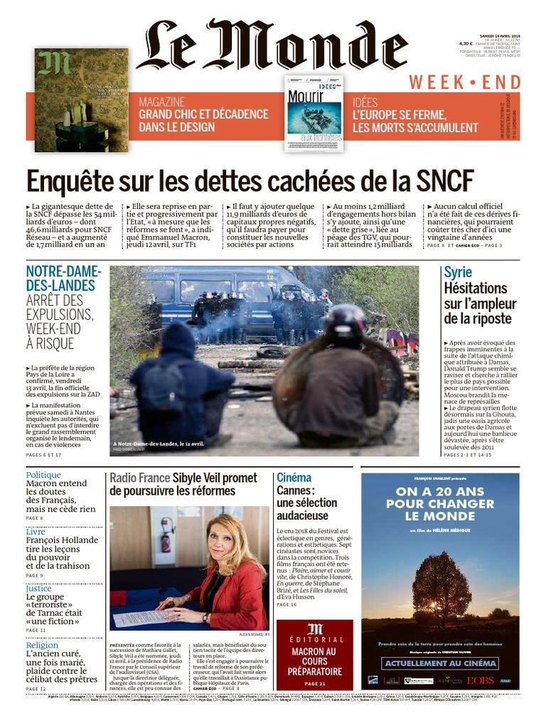 Le Monde  14-04-18  901bb4bcb9f