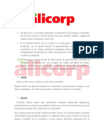 ALICORP Informe Final