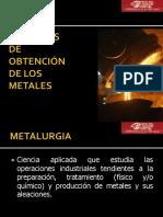 3.0 Procesos de Obtencion de Los Metales