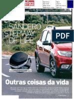 "NOVO DACIA SANDERO STEPWAY OF LIFE NA ""AUTO FOCO"""