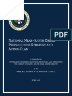 National Near Earth Object Preparedness Strategy and Action Plan