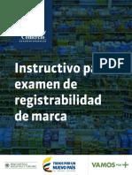 Instructivo Registro de Marcas