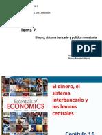 Tema 7.2. Cap.16-Dinero, Sistema Interbancario y Los Bancos Centrales