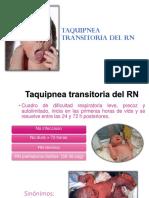 taquipnea transitoria del resien nacido