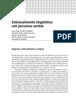 Entrenamiento Linguistico a Personas Sordas - Varela, Huerta, Nava y Ortega (2014)