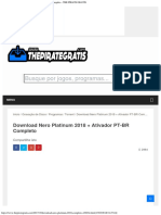 Download Nero Platinum 2018 + Ativador PT-BR Completo - THE PIRATE GRATIS