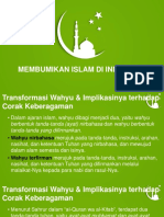 Membumikan Islam Di Indonesia