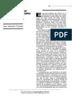 Aliende Ana, Estructura Social y Practicas Sociales