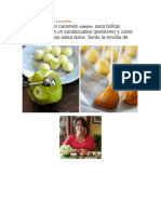 Mini Manzanas Con Caramelo-Ver Recetas de Caramelo Para Palomitas